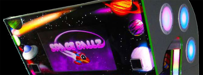 Space Ballz redemption arcade game