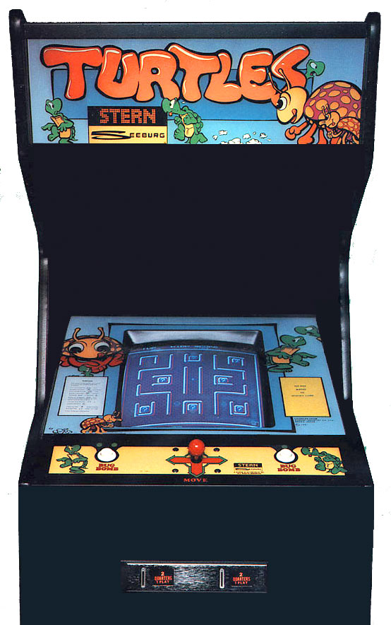 Stern's turtles arcade game