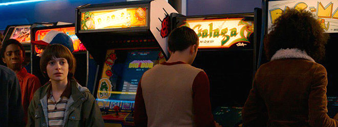 The arcade in Stranger Things 2