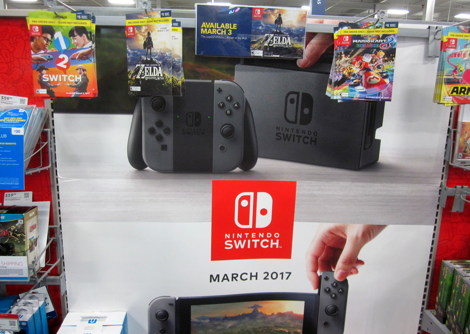 Preorder games for Switch at Best Buy