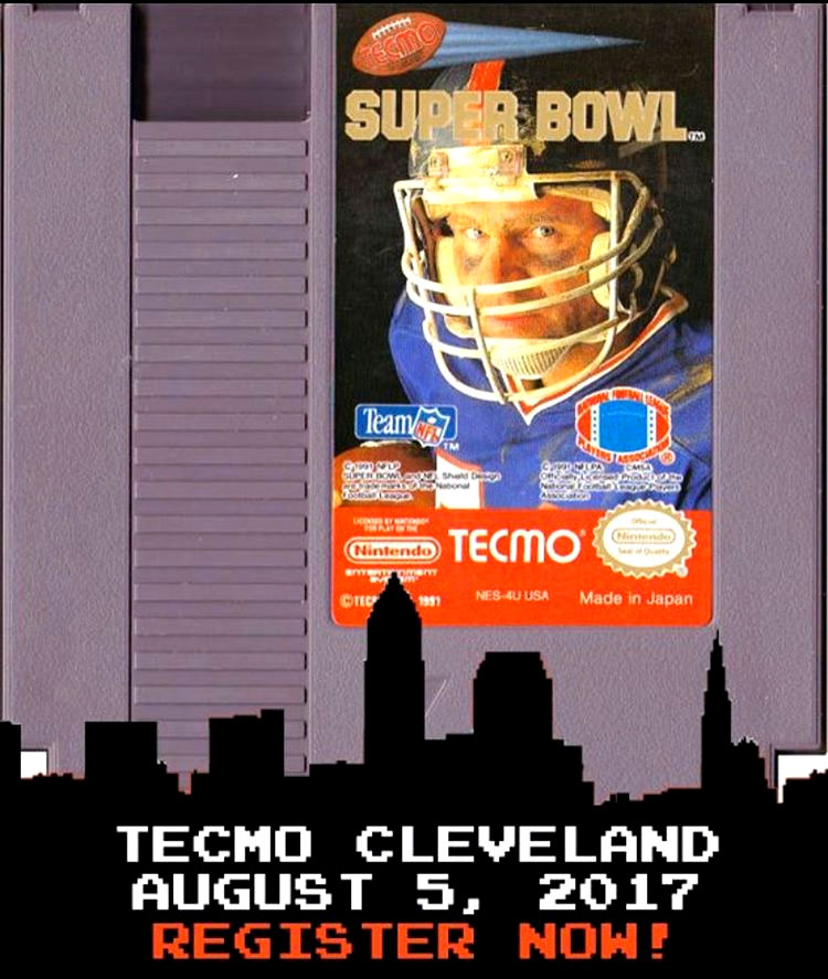 Tecmo Cleveland Tecmo Superbowl tournament