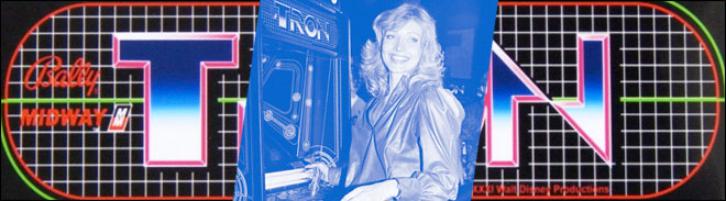 Cindy Morgan stared in Tron as Yori