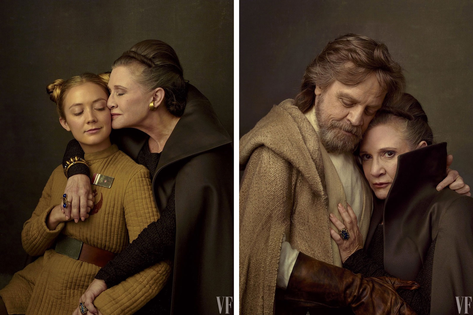 Vanity Fair - Luke and Leia