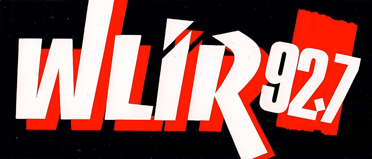 WLIR bumper sticker