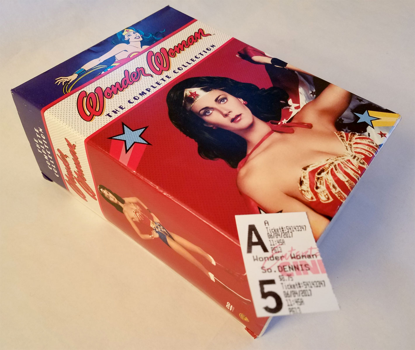 Wonder Woman Collection on DVD