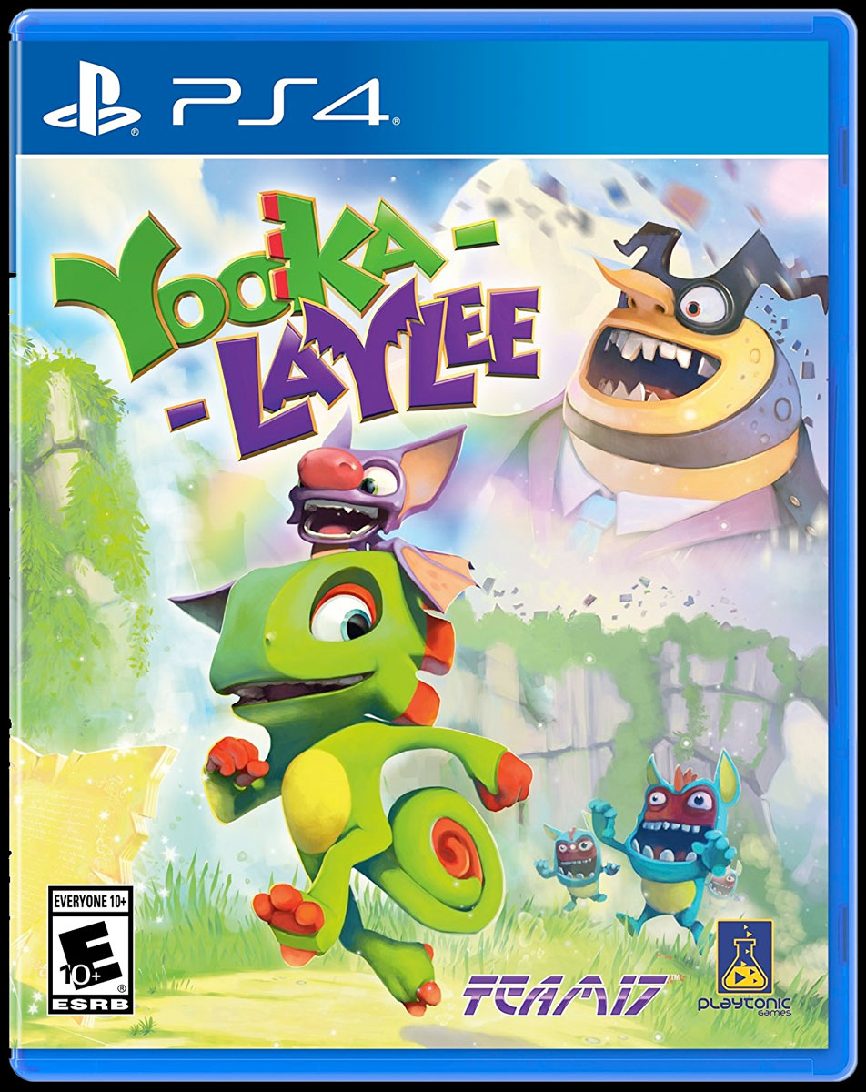 Yooka-Laylee for PS4