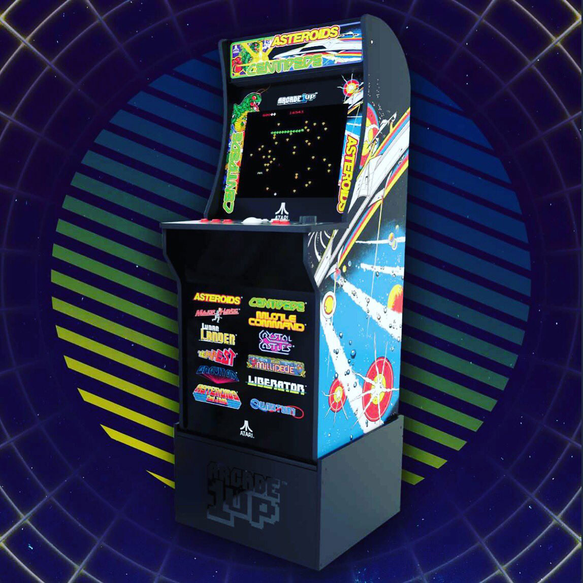 Arcade1Up - For $499 you can get a 12-game cabinet with a riser