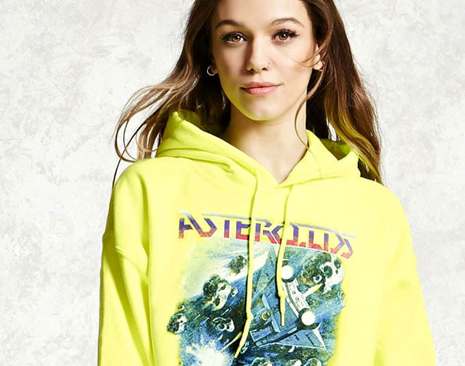 Atari licensed clothing at Forever 21