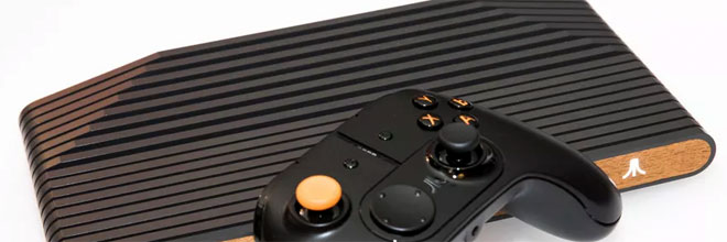 Atari showcased their Atari VCS