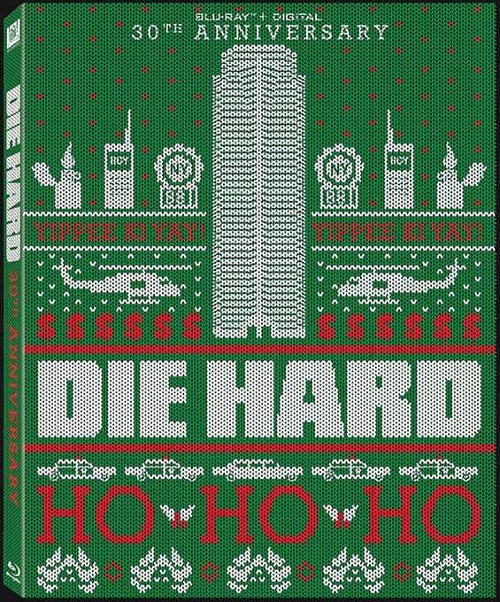 Holiday Edition of the Die Hard 30th Anniversary DVD