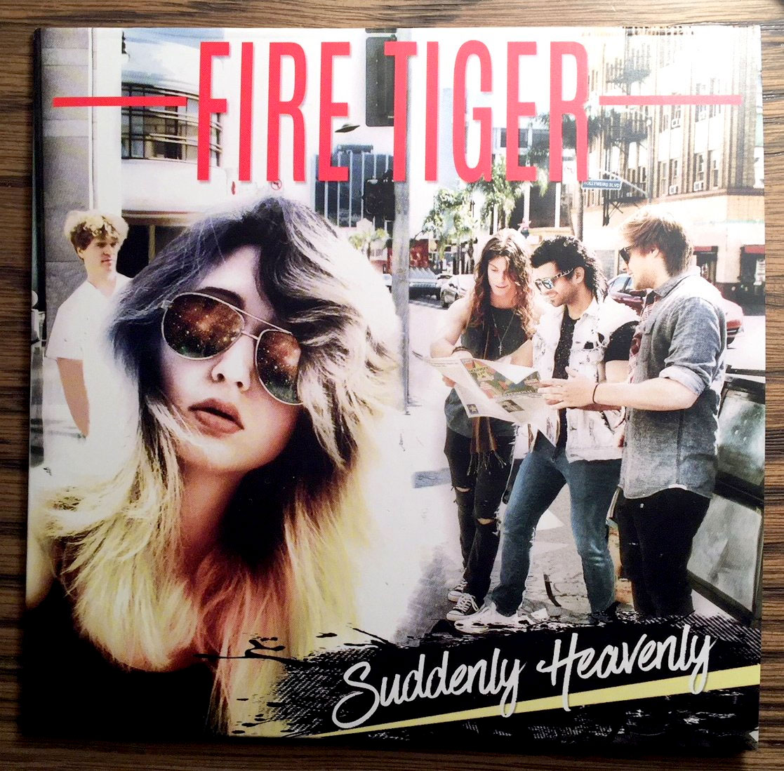 Fire Tiger's album Suddenly Heavenly