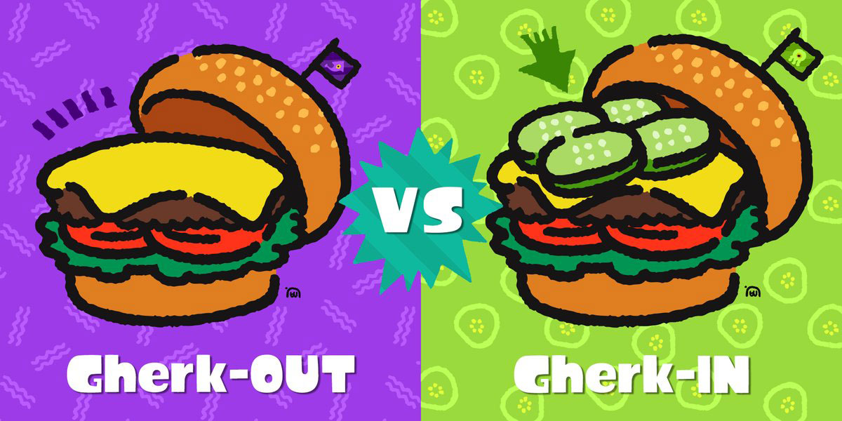 Splatfest: Gherk-in or Gherk-out