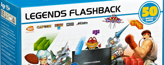 AtGames Legends Flashback game console