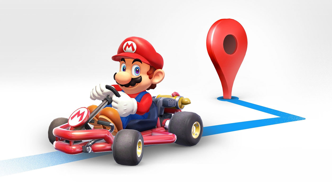 Google Maps puts a Mario touch on their mobile app