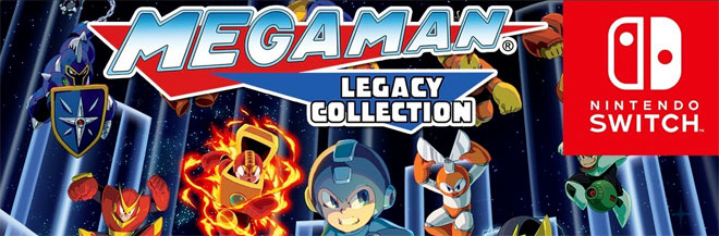 Mega Man Legacy Collections for Switch
