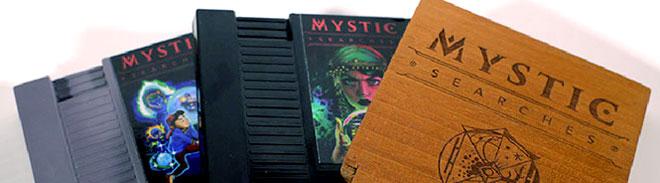 Mystic Searches made with NES Maker