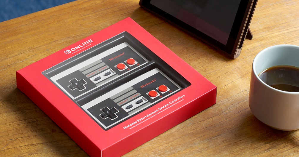 NES-style controllers for Switch's online membership