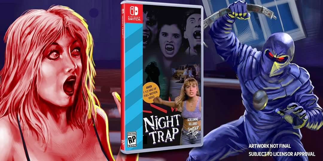 Night Trap for Nintendo's Switch