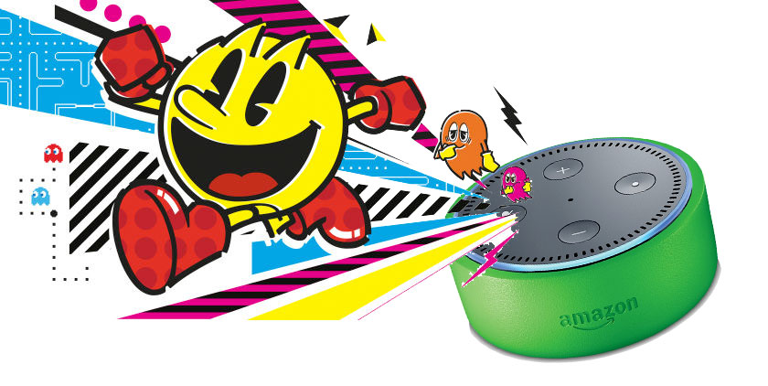 Interactive Pac Man stories from Bandai-NamcoI