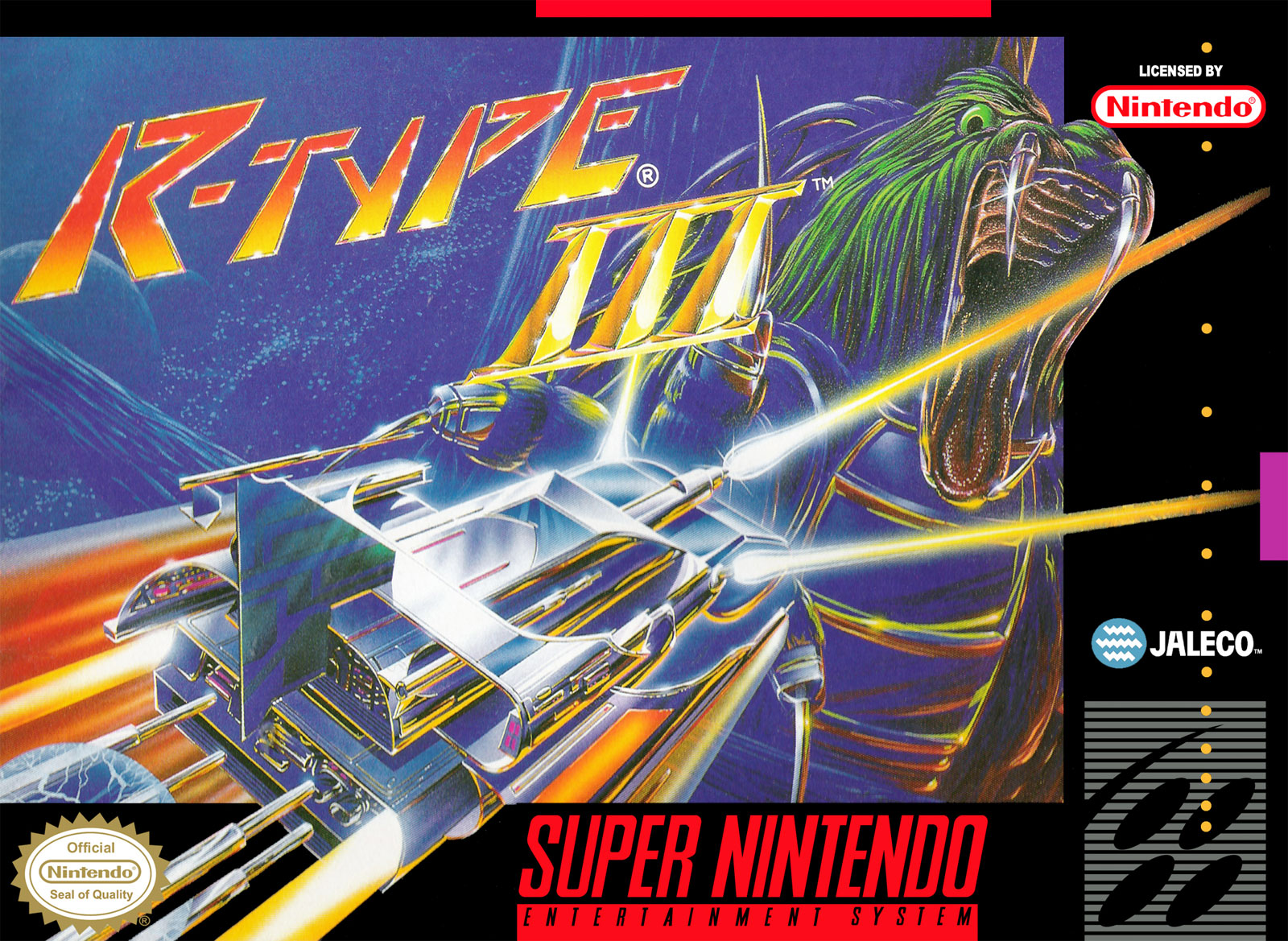 R-Type III by Irem & Jaleco for SNES
