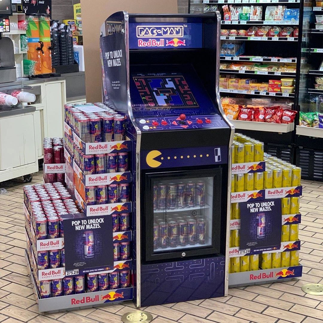 NA » Red Bull Pac-Man cooler