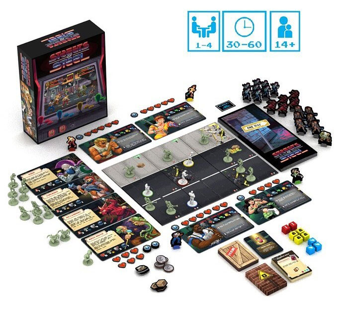 Streets Of Steel boardgame