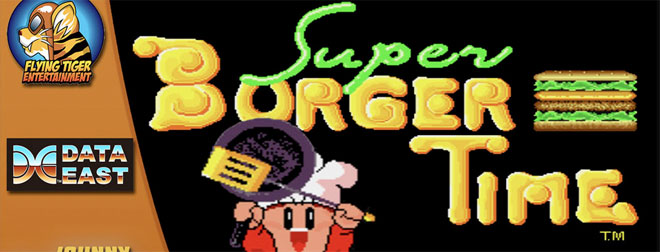 Super Burgertime for Nintendo Switch
