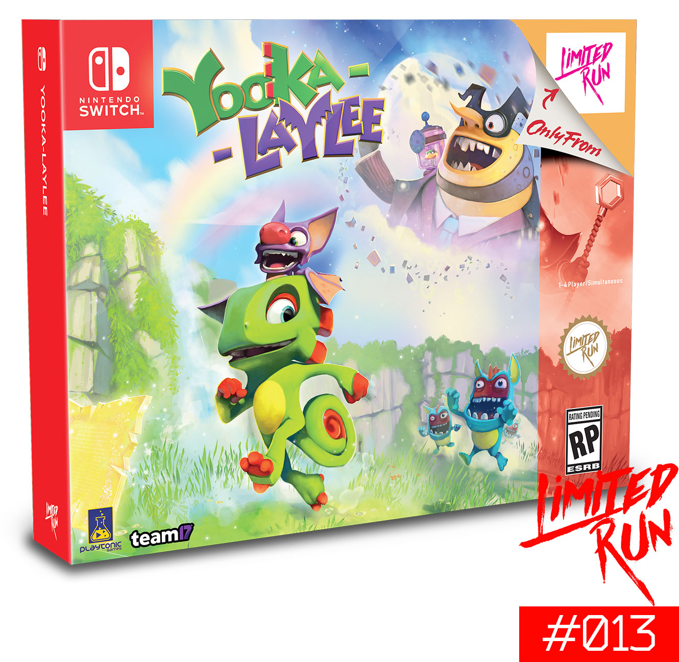Yooka-Laylee Classic Edition for Nintendo Switch