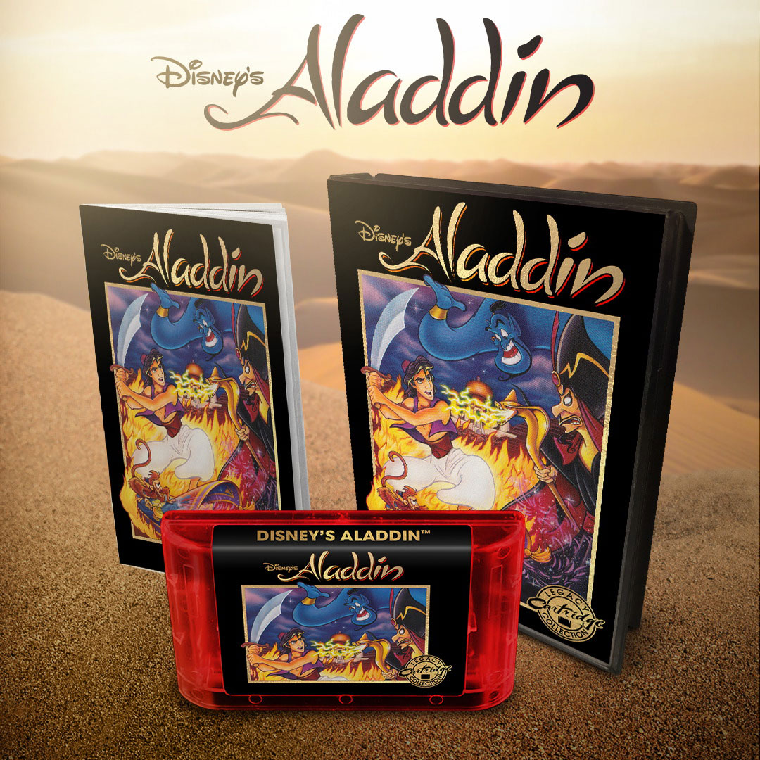 Aladdin for Genesis from iam8bit