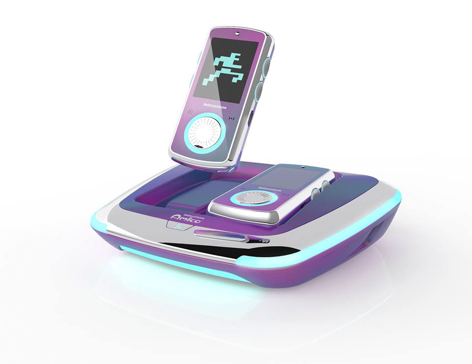Galaxy Purple Intellivision Amico console