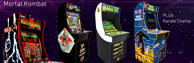 Arcade1Up at the CES trade show