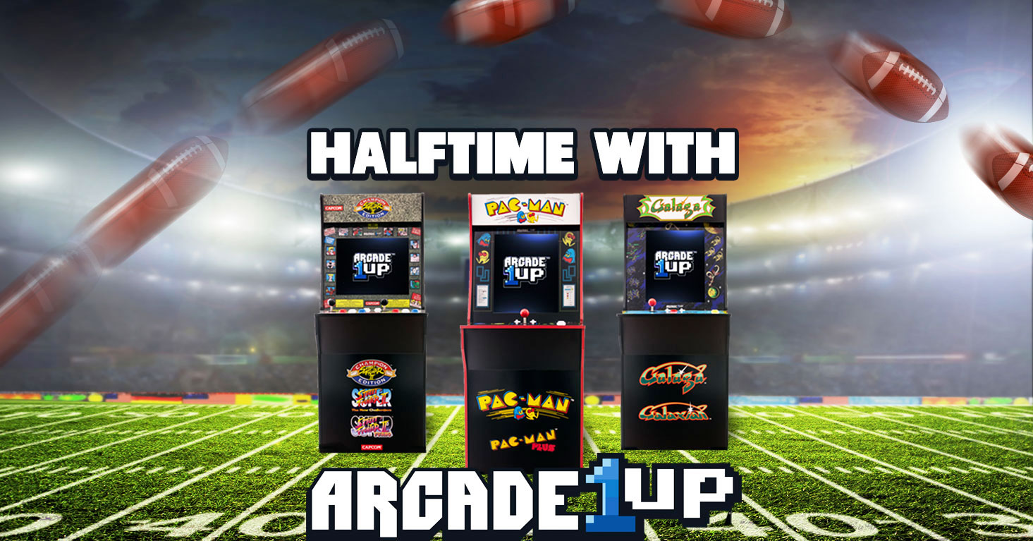 Add arcade games to your Super Bowl party