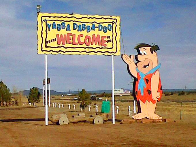 Arizona's roadside attraction, Bedrock City