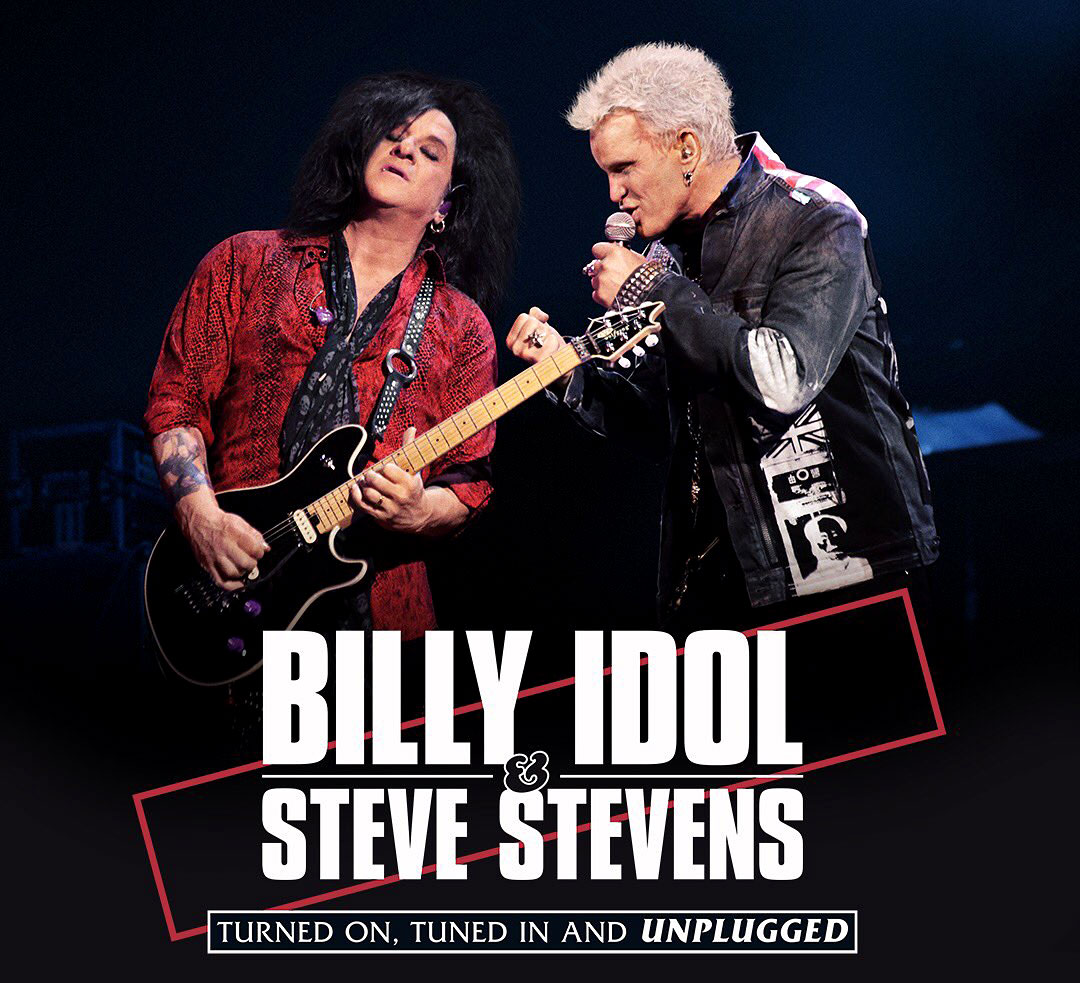 Billy Idol and Steve Stevens are hitting the road