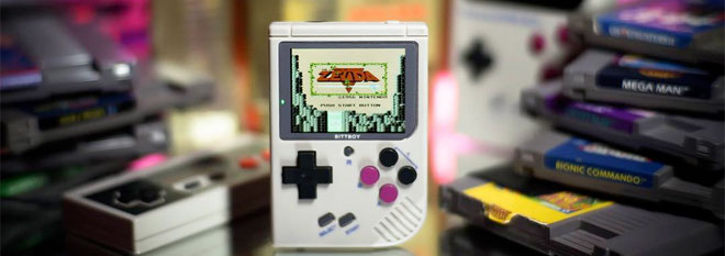 The BittBoy handheld supports GBA and arcade