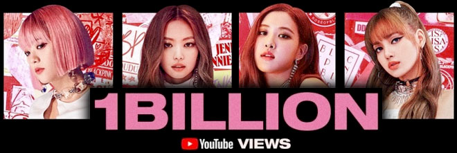 BlackPink's DDU-DU DDU-DU video hits one billion views
