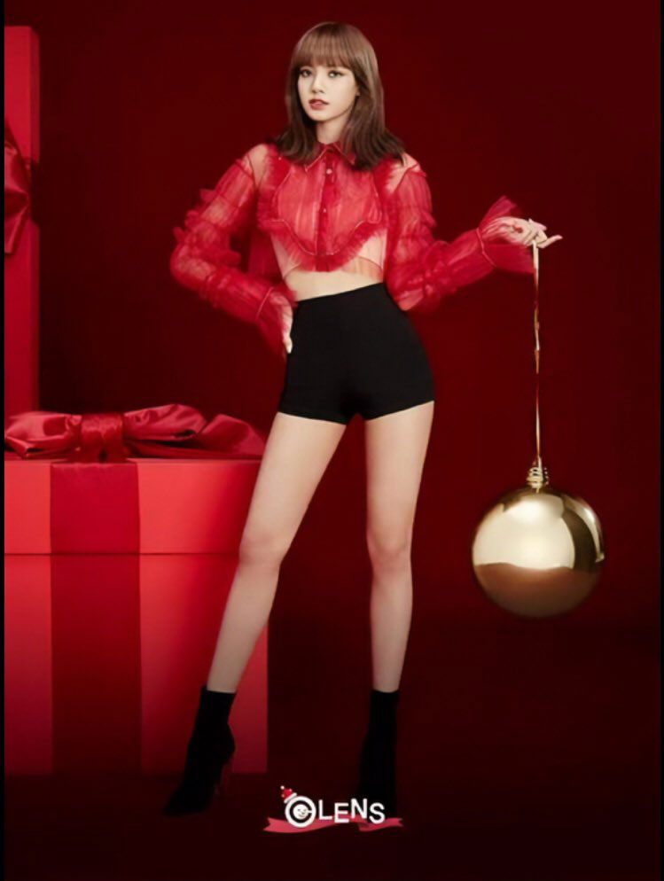 Black Pink Christmas - Lisa