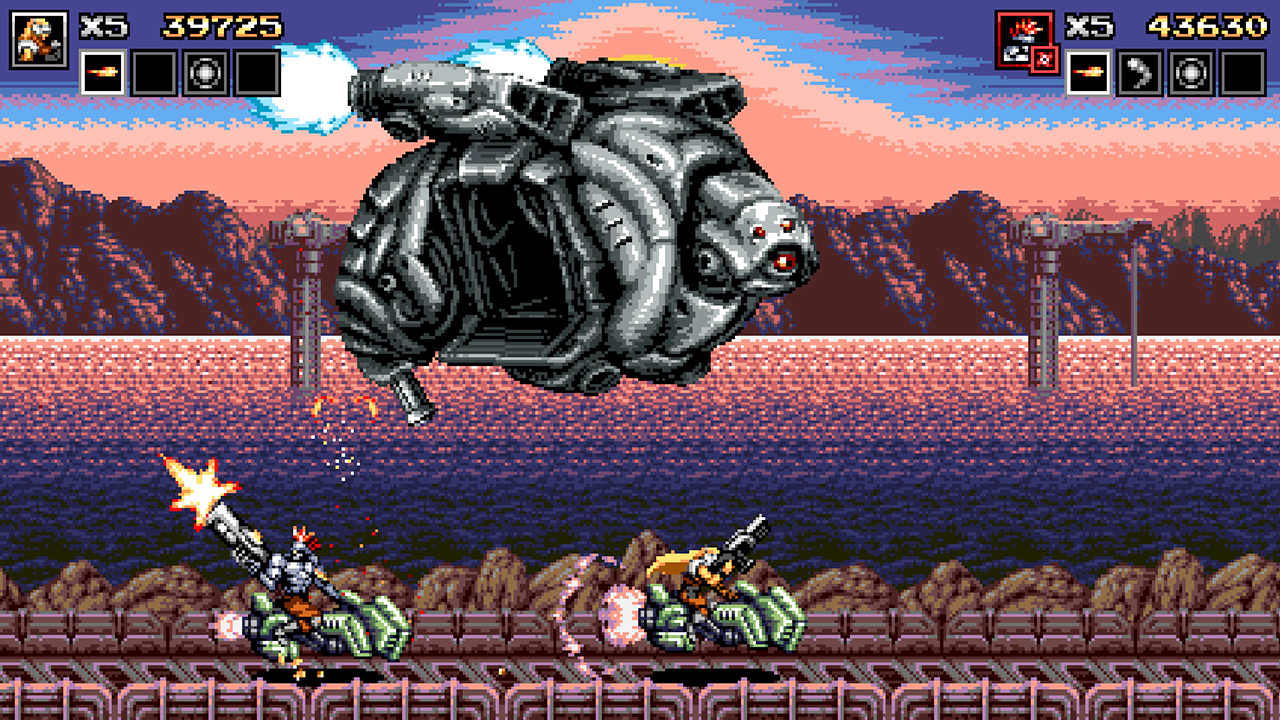 Blazing Chrome gets a physical release on Switch and PS4