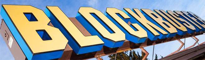 Blockbuster made renting cool