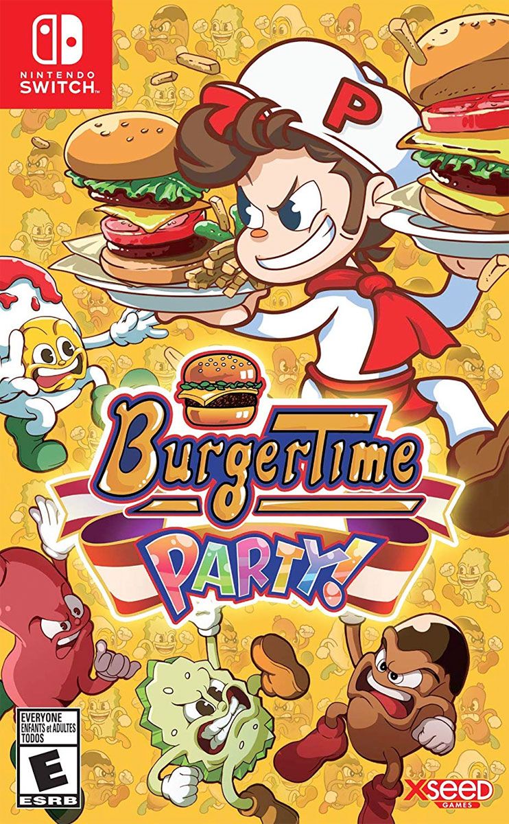 BurgerTime Party for Nintendo Switch