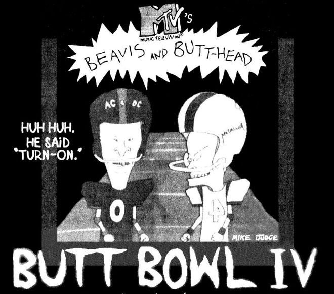 Mtv Beavis and Butthead Butt BowlIV