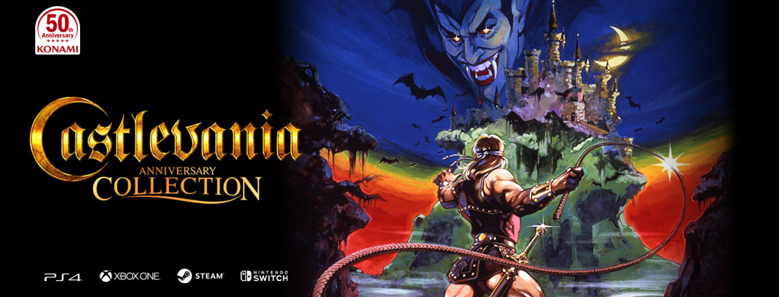Konami's 50th anniversary Castlevania Collection