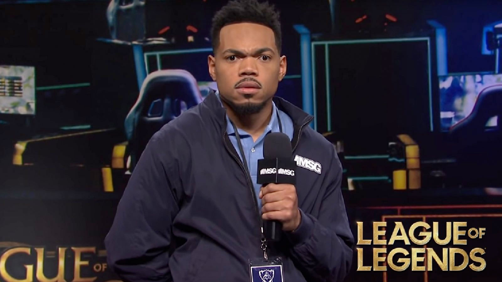 Chance The Rapper as an eSports announcer on SNL
