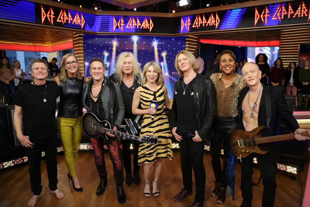Def Leppard on Good Morning America