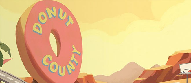 Donut County for PS4 on a physical disc