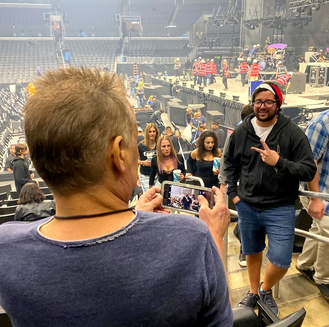 Eddie Van Halen's fan encounter at a Tool concert