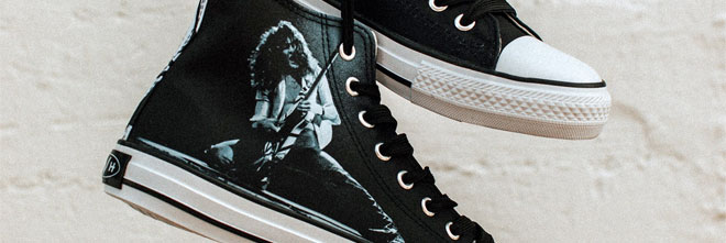 Eddie Van Halen 1978 High Top shoes