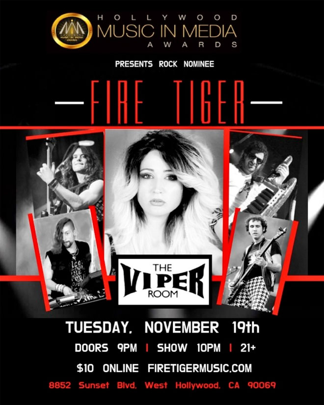 Fire Tiger at the Viper Room