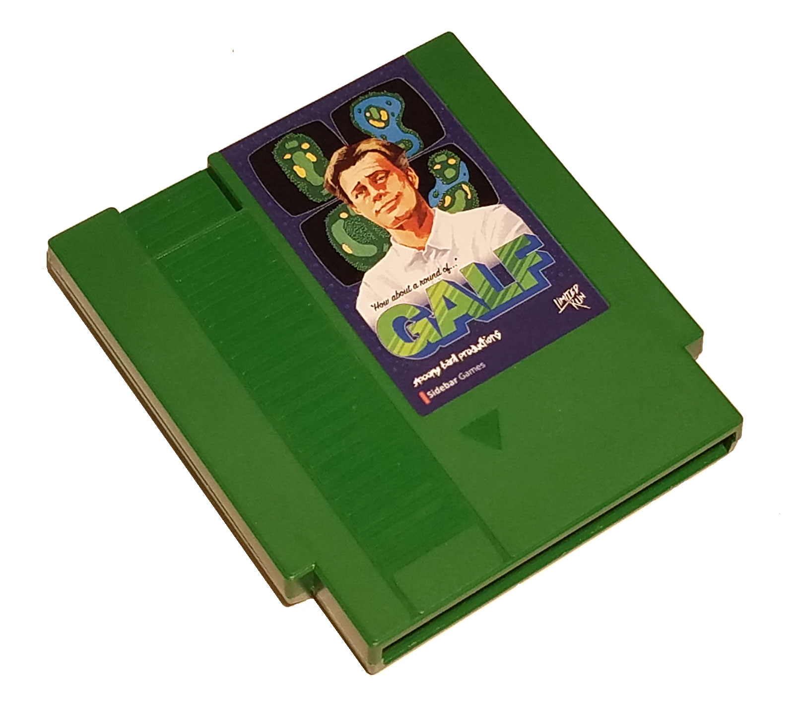 The dark green Galf cartridge