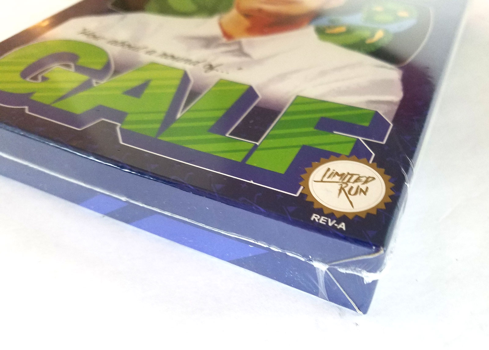 Golf Story's minigame, Galf, - shrink wrapped box